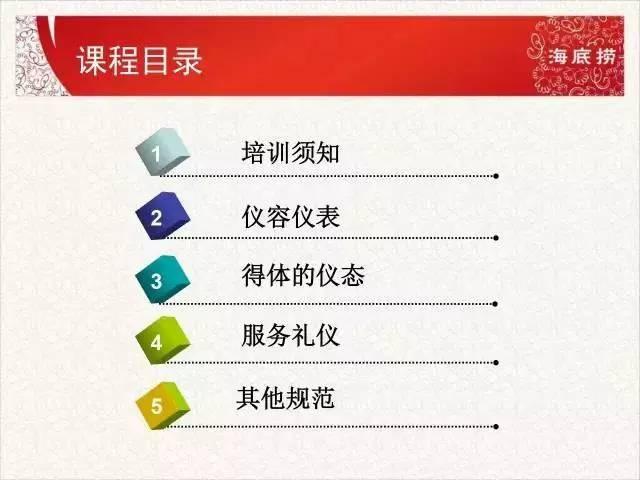 【实用:海底捞员工培训PPT课件曝光,干服务业的都应该看看】 经营管理 第2张